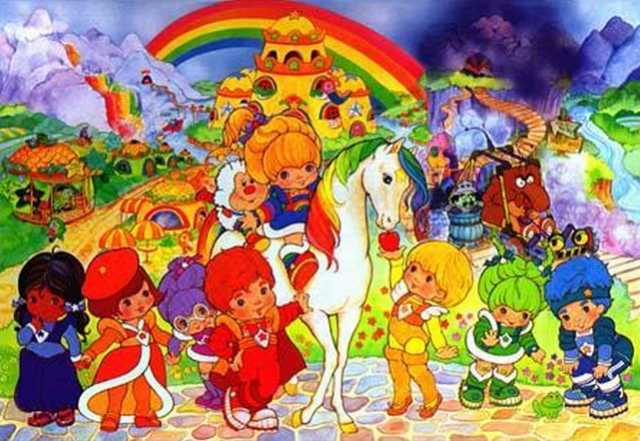 Weird News - Katy Cartee - Rainbow Brite