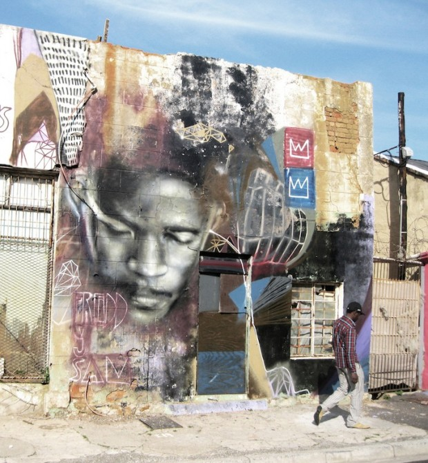 African Street Art -  Cape Town - Freddy Sam aka Ricky-Lee Gordon 3