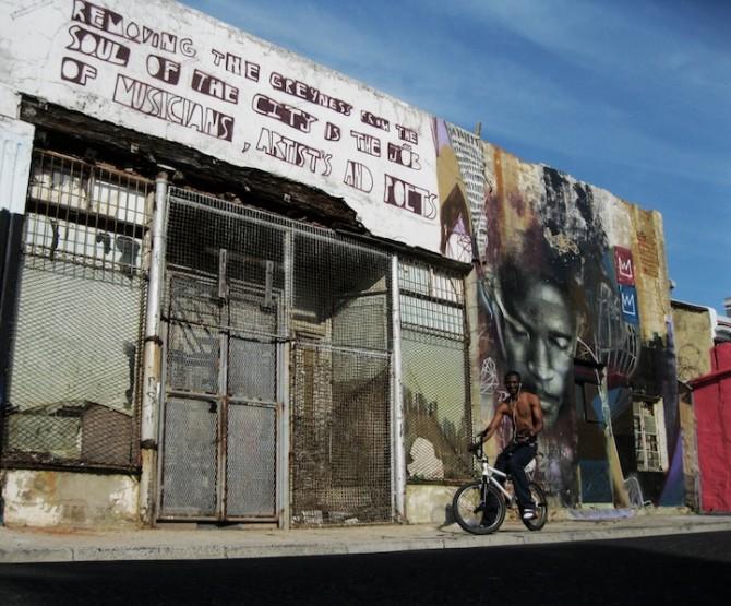 African Street Art -  Cape Town - Freddy Sam aka Ricky-Lee Gordon 4