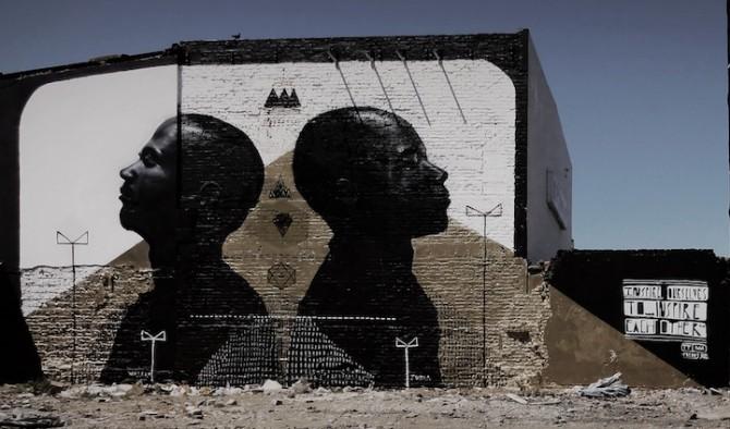 African Street Art -  Cape Town - Freddy Sam aka Ricky-Lee Gordon