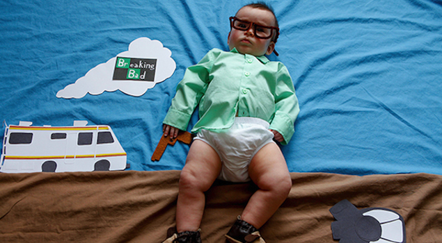 Baby Dressed Up As Walter White