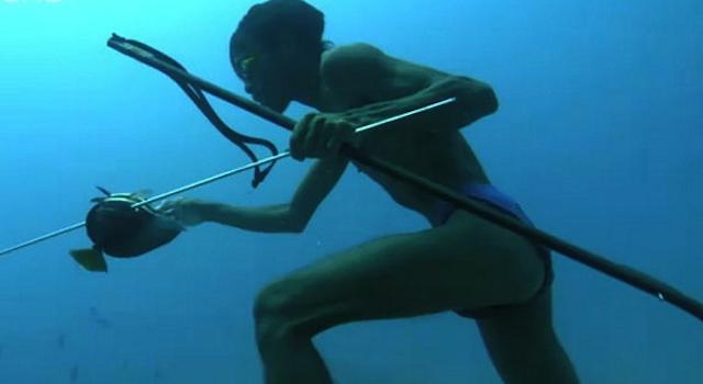 Bajau Tribe Hunting UnderwaterBajau Tribe Hunting Underwater