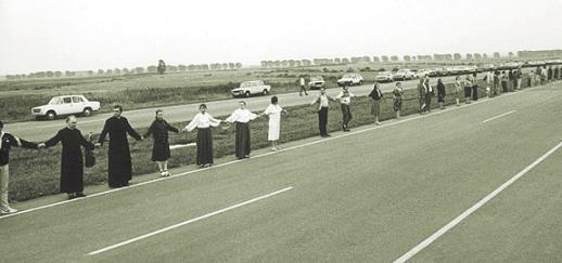 Baltic Way - Human Chain - August 1989