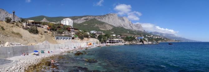 Crimea - Ukraine - Russia - Foros Beach
