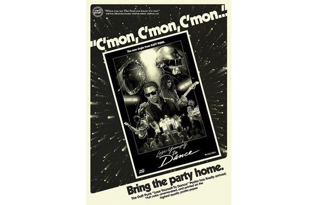 Daft Punk Vintage Posters 1