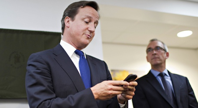 David Cameron Facebook Likes