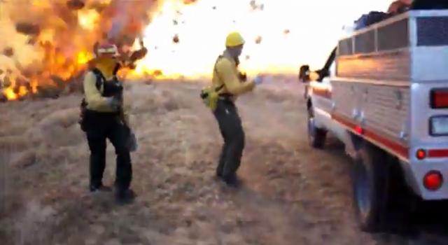 Fire Tornado - Forenado - fire fighters