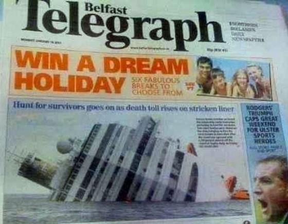 Format Layout Magazine Fails - dream holiday