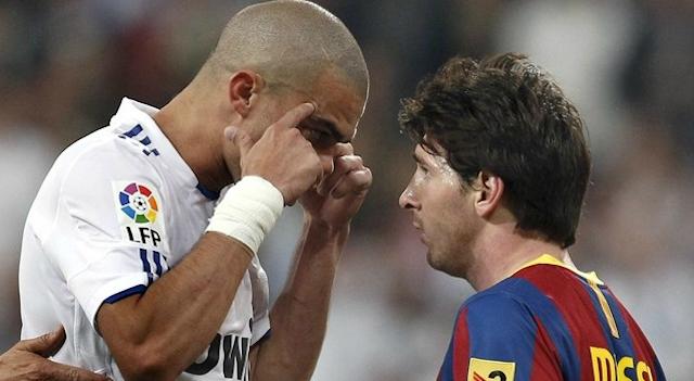 Lionel Messi Trolls Pepe