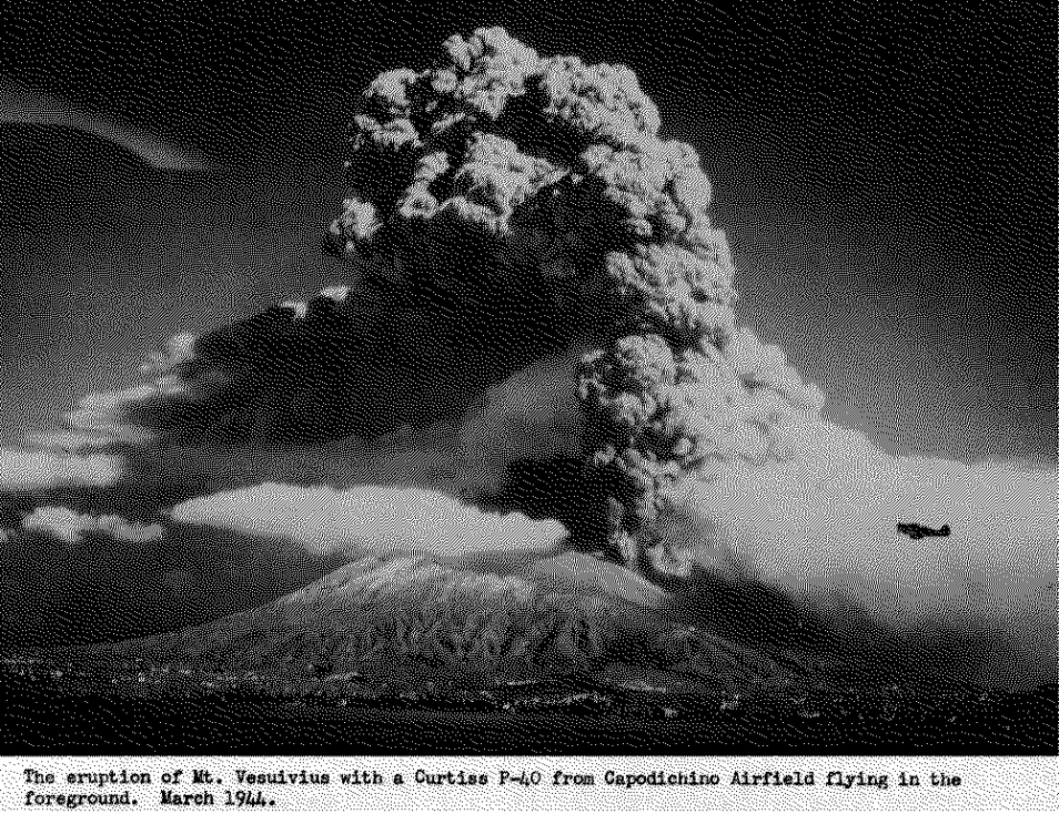 photos vintage pictures of mount vesuvius erupting in