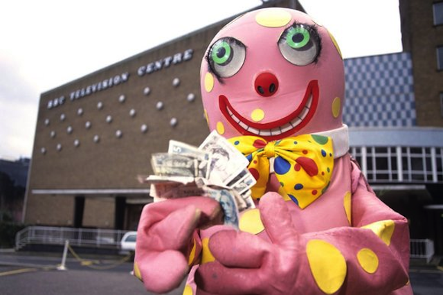 Mr Blobby Buys BBC