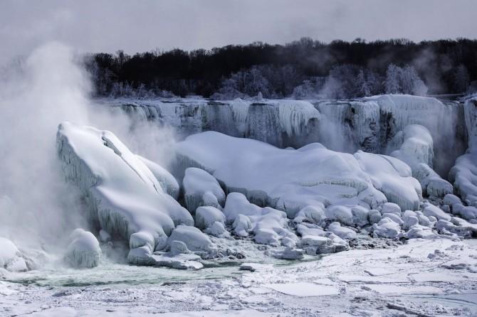 Niagara Falls Frozen - epic