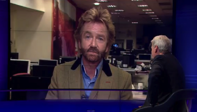 Noel Edmonds Newsnight