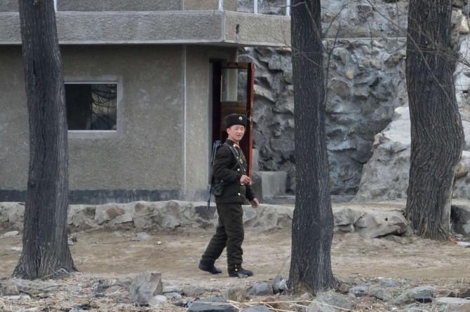 North Korea Political Prisoner - soldier