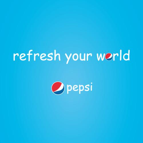 Pepsi Comic Sans