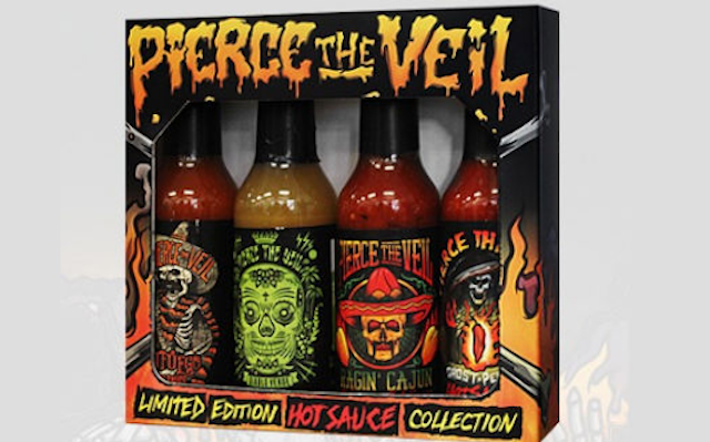 Pierce The Veil Hot Sauce Collection