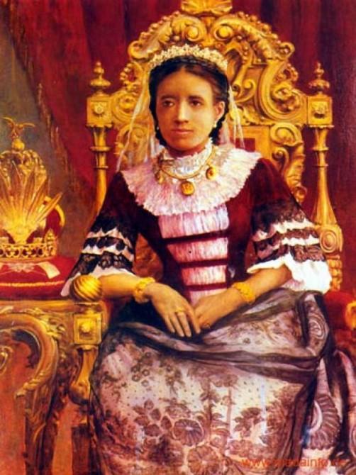 Queen Ranavalona I Madagascar - Portrait 2