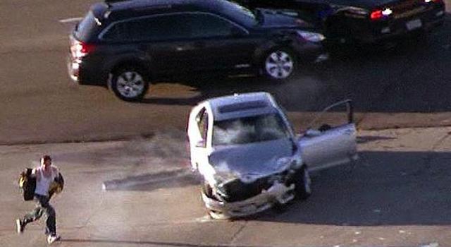 Real Life GTA Car Chase