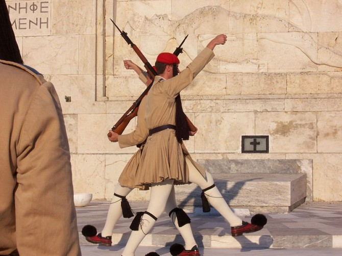 Ridiculous Funny Military - Greece - Presidential Guard