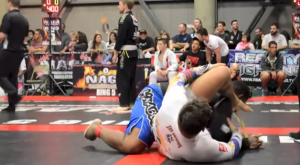 Wrestler Farts In Wrestler's Face