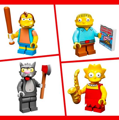 Simpsons Minifigures 1