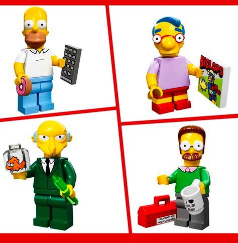 Simpsons Minifigures 2