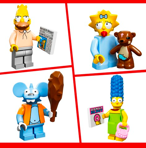 Simpsons Minifigures 3