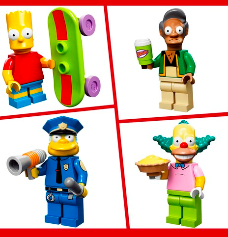 Simpsons Minifigures 4