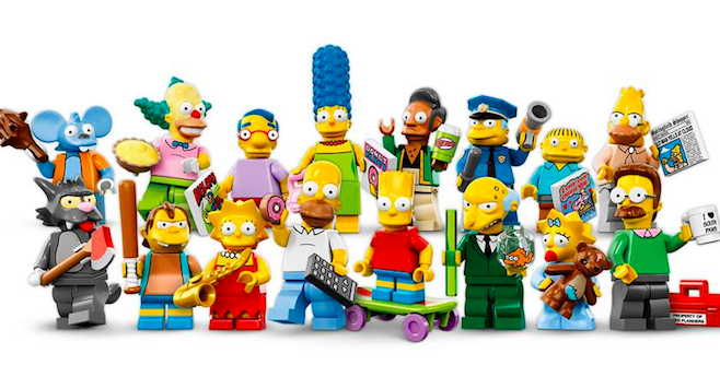 Simpsons Minifigures