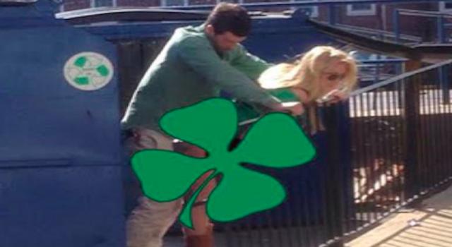 St Patrick's Day Dumpster Fuck