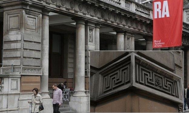 Swastika Architecture - 17th Century, Burlington House