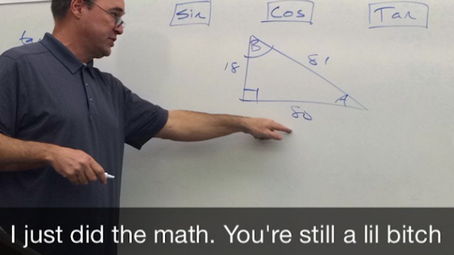 Teacher Snapchats