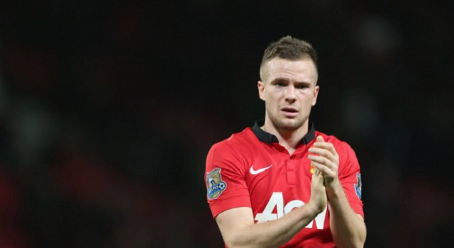 Cleverley representing United.
