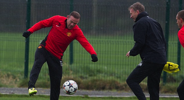 Wayne Rooney David Moyes Nutmeg
