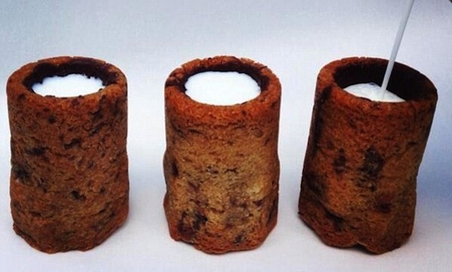Big Up The Guy Who Invented These Chocolate Chip Cookie Milk Shots ...