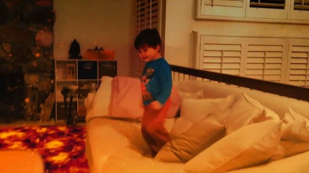 Dreamworks animator turns videos of his son into sick for Lava parquet