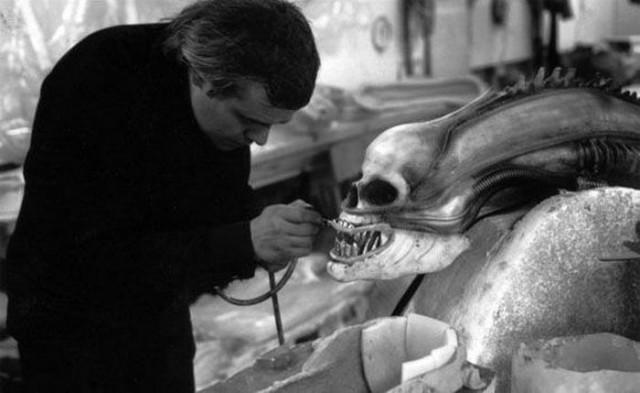 Alien Film Behind The Scenes - Model 11