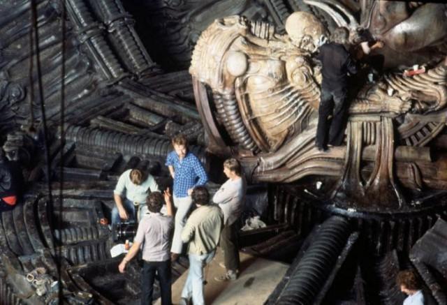 Alien Film Behind The Scenes - Model