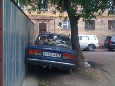 Awesome Photos From Russia - Parking