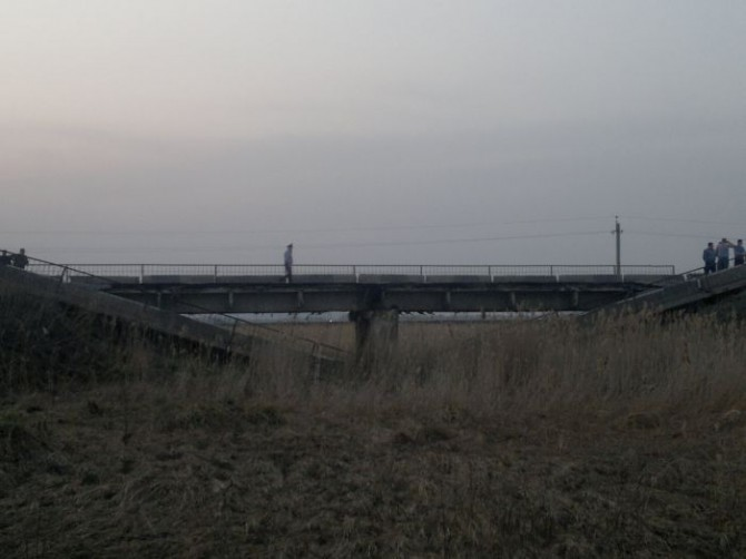 Awesome Photos From Russia - broken bridge