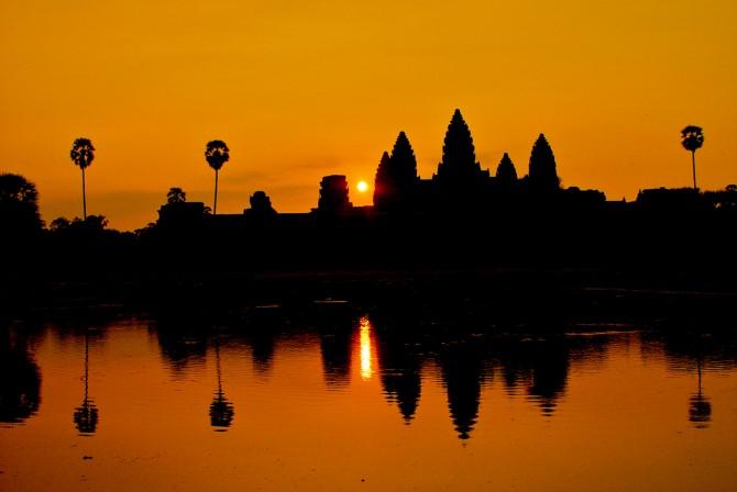 Bucket List - Angkor Wat sun rise