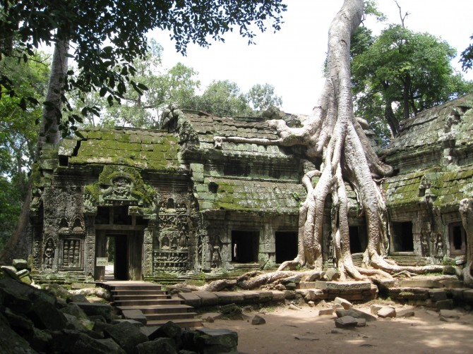 Bucket List - Angkor Wat tomb raider