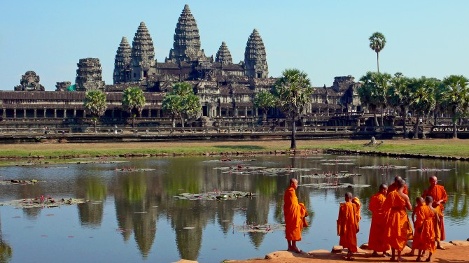 Bucket List - Angkor Wat with monks