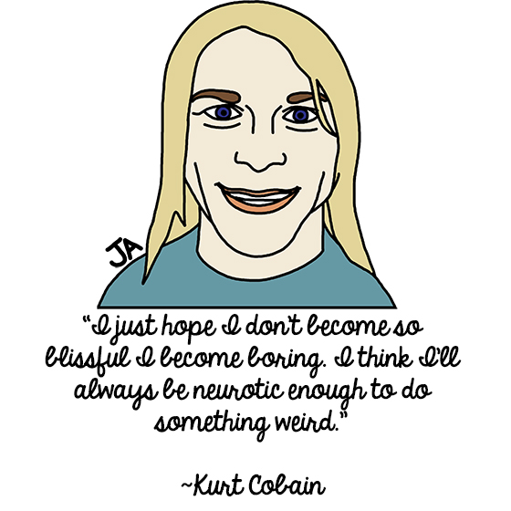 Illustrated Thoughts Of Kurt Cobain 1