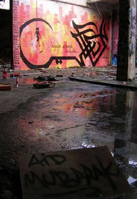 Islamic Graffiti - eL SEED - Tunisia 2