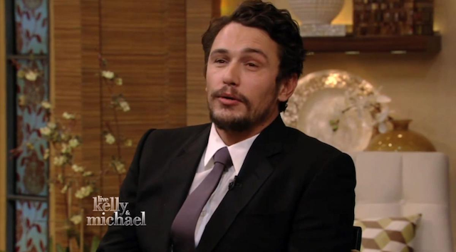James Franco Live With Kelly And Michael