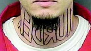 Murder Neck Tattoo
