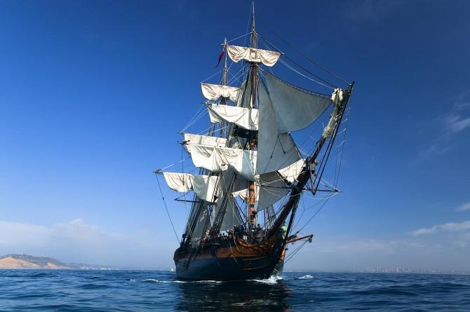 HMS Surprise Sailing Ship Mast & Rigging