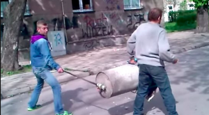 Russian Homemade Bazooka