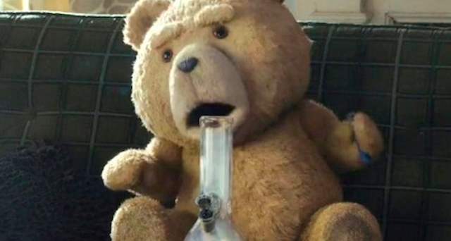 TED smoking Bong